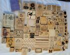 100+ Rubber Stamps Wood Blocks Great Impressions All Night Media Stampin Up