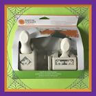 RARE Martha Stewart SPOOKY CAT Punch Around The Page Punch Set NEW
