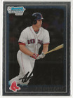 ANTHONY RIZZO 2010 BOWMAN CHROME BASEBALL ROOKIE CARD #BCP101 - RED SOX