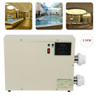 55KW 220 240V Swimming Pool  SPA Hot Tub Electric Water Heater Thermostat HQ
