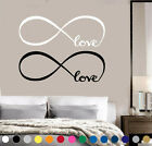 LOVE Infinity Wall Decal Lettering Sticker Sign Car Truck Window Art Decor v2