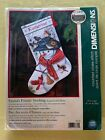 DIMENSIONS COUNTED CROSS STITCH KIT EMMAS FRIENDS STOCKING 8779