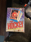 1989 90 Topps Hockey Box (36 SEALED Packs) Possible Sakic, Leetch Rookie cards🔥