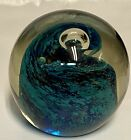 LARGE STUDIO GLASS PAPERWEIGHT