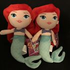 Set of Two Disney Princess Ariel Dolls with Tags
