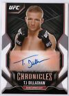 2015 Topps UFC Chronicles Trading Cards - Review Added 58