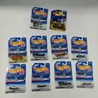 Hot Wheels Lot of 10 1998 forst edditions and 200 first editions