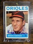 BROOKS ROBINSON 1964 TOPPS #230 SIGNED Autographed Card - AL MVP Year auto HOT