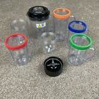 Magic Bullet Blender Replacement Parts Cups Mugs w handles Pitcher Lip Rings