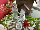 Waterford Crystal Nativity Holy Family Christmas in original box