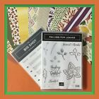 Stampin Up FALLING FOR LEAVES Stamps DETAILED LEAVES Dies  COLOR ME AUTUMN