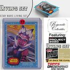 Ultimate Topps Living Set Star Wars Trading Cards Checklist Guide 7
