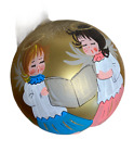 Bellagioxmas NEW Angel Handpainted Glass Collectable Ornament Signed Numbered