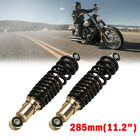 2x 285mm Rear Shock Absorber Suspension For 50cc 110cc Motorcycle Dirt Pit Bike