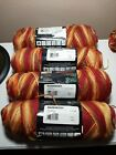 RARE LOT 4 Red Heart Super Saver MARRAKESH 0947 Worsted 4 Med SAME LOT Acrylic