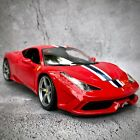 Ferrari 458 Speciale Special Edition Diecast Boxed 118 Model Car Red