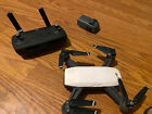 DJI Spark Drone With Controller And Extra Battery read description