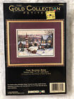 Dimensions The Gold Collection Petites The Sleigh Ride Cross Stitch Kit NIP 8562
