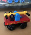 2001 Learning Curve Wooden Thomas Train Set Exclusive Sodor Red HandcarEUC