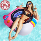 Pool Floats Adult Cute Floats for Swimming Pool Multi Purpose Pool Floaties fo
