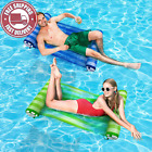 KMM Swimming Pool Floats Adult Size 2 Pack Multi Purpose Inflatable Hammock