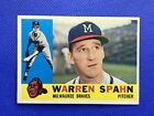 Warren Spahn Cards, Rookie Cards and Autographed Memorabilia Guide 3