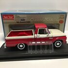 Sunstar 1965 Ford F100 Pickup Truck 118 Diecast Car  Red White