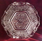 Vintage Sandwich Hexagonal Glass Bowl by Indiana Pressed Retro Pretty