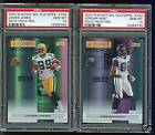 POP 1 PSA 10 JAMES JONES 2007 PLAYOFF GOLD HOLO FOIL RC 25 PACKERS SUPERSTAR WR