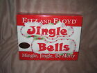 Fitz Floyd Mingle Jingle Be Merry tidbit dishes NIB '06