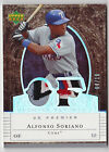 2007 UD Premier ALFONSO SORIANO Dual Patch Jersey #d 10