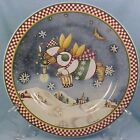 SNOW ANGEL VILLAGE SALAD DESSERT PLATE Sakura Oneida