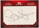 2010 Topps Sterling BOBBY MURCER Auto Signature Cut 2 3