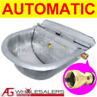 STAINLESS WATER TROUGH BOWL AUTOMATIC DOG HORSE CHICKEN DRINKING