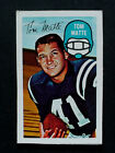 1970 Kelloggs 3D Tom Matte Colts Cereal Box Card