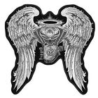 ANGEL BIKER WINGS MOTORCYCLE PATCH P5190 jacket iron engine patches wing new
