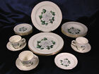 VINTAGE HOMER LAUGHLIN CORONATION ROSE DINNER SET FOR 4