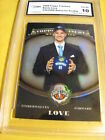 KEVIN LOVE 2008 TOPPS TREASURY REFRACTOR RC GRADED 10