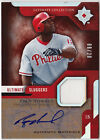 2005 Ultimate Collection RYAN HOWARD Auto Jersey #d 20