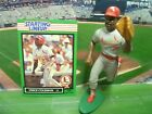 1989  VINCE COLEMAN - Starting Lineup - SLU - Loose With Card - S.L. Cardinals
