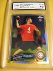 NATHAN ENDERLE CHICAGO BEARS 2011 TOPPS CHROME REFRACTOR ROOKIE RC #24 GRADED 10