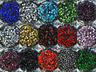 Loose Rhinestones lot of Hot Fix Iron on 3mm SS10 22 Colors to choose from