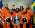 SPACE SHUTTLE DISCOVERY CREW STS 116 NASA 8x10 PHOTO