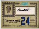 2005 Prime Cuts WILLIE MAYS Auto Patch Jersey #d 2 5