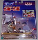 Starting Lineup 1999 Freeze Frame One on One Cal Ripken jr Kenny Lofton MINT SLU