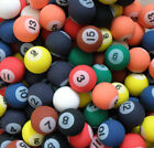 Billiard Pool Style Rubber Bouncy Super Balls Fun Gift Party Favors