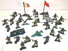 2 COMPLETE PLASTIC ARMY MAN SET play toy soldier men soldiers tank planes new