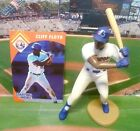 1995  CLIFF FLOYD - Starting Lineup - SLU - Figure & Card - MONTREAL EXPOS