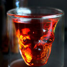 New Crystal Skull Head Vodka Shot Glass Drinking Ware for Home Bar