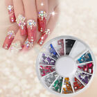 New Fashion Multi-color Wheel Case Nail Art Decoration 16#